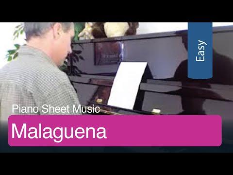 Free Sheet Music   Malaguena for Easy Piano