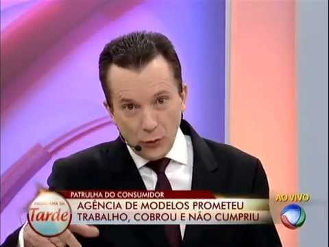 Programa da Tarde Agência de modelos descumpre promessas 24/07/2013