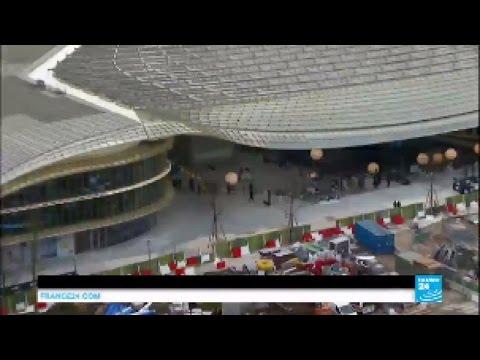Paris-Les Halles: Unveiling of 1 billion euro revamp of metro, shopping complex