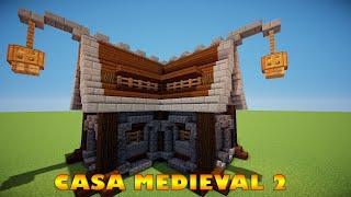 Casas Minecraft Medieval Simples