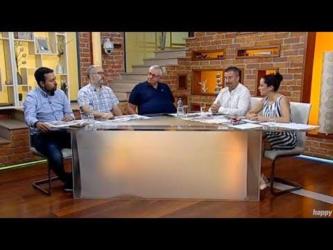 Hrvatski huligani Torcide opljackali pumpu u Srbiji - Dobro jutro Srbijo - (TV Happy 03.08.2018)