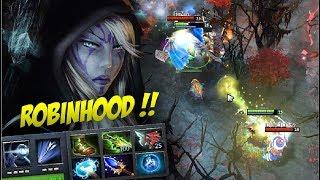 ROBINHOOD?! - Drow Ranger with Etheral Blade by Ahjit Dota 2