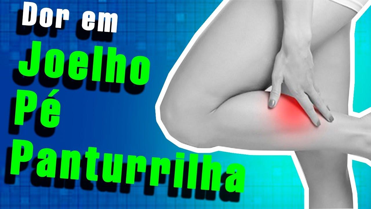 Ciática da da panturrilha dor no músculo