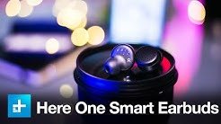 Here One Smart Wireless Earbuds - Hands On Review