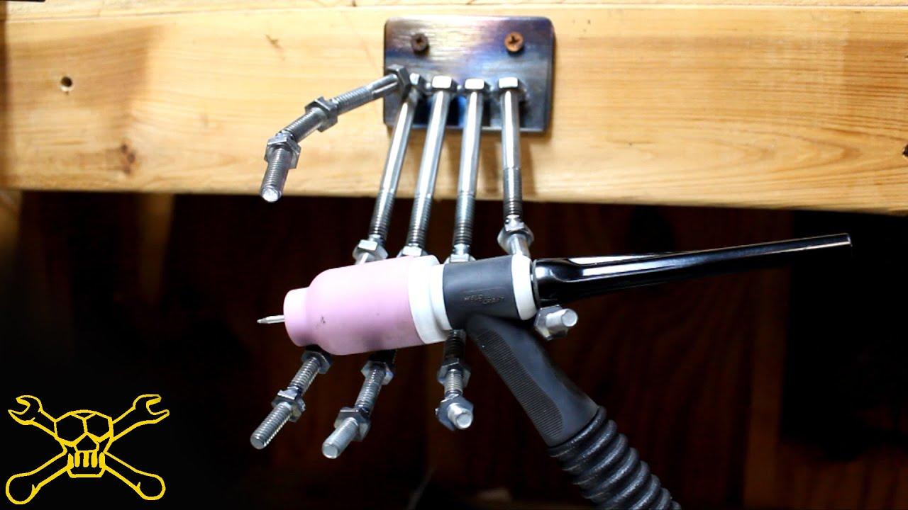 Skeleton Tig Welding Torch Holder Youtube