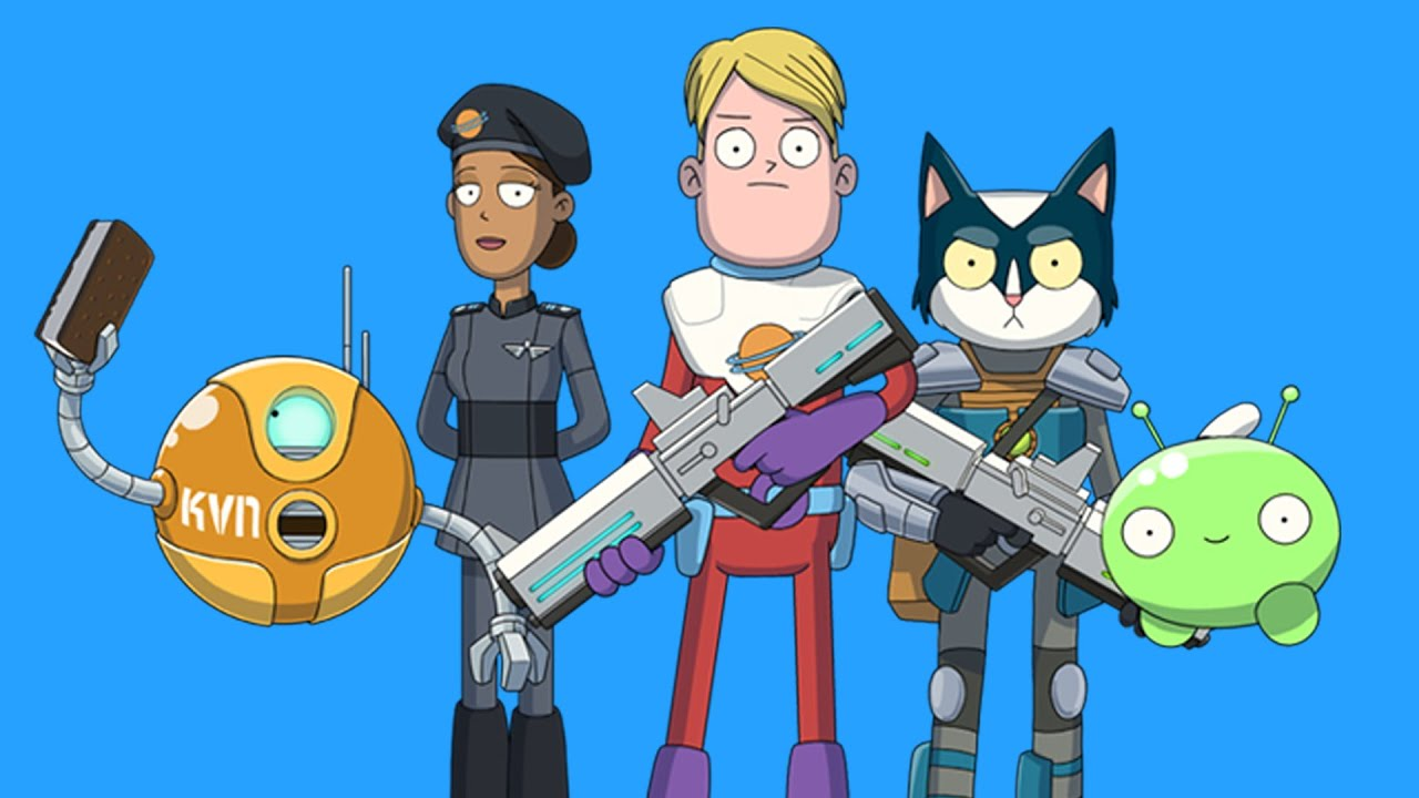Final space cartoon pilot youtube - Final space wallpaper ...