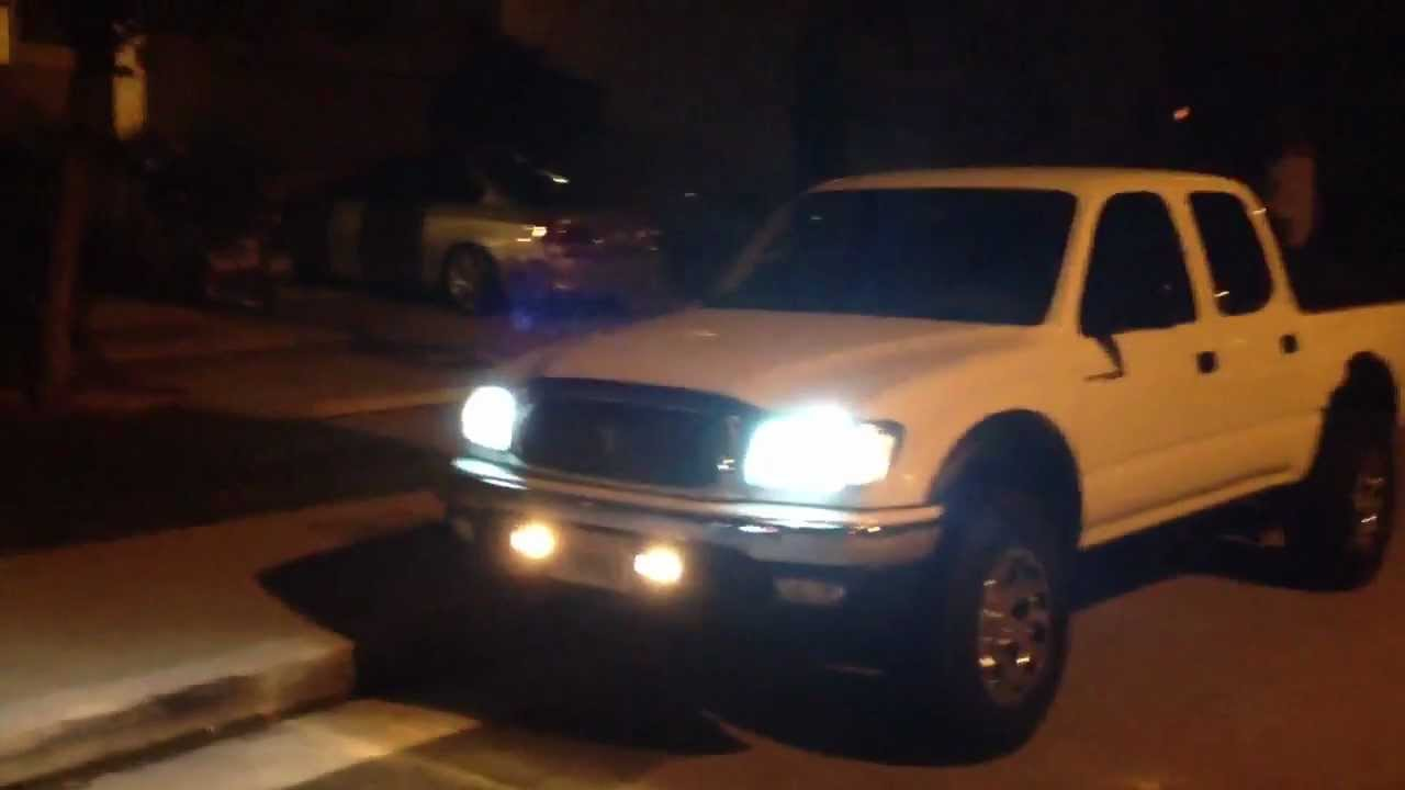 2002 tacoma with 6000k hids youtube 2002 tacoma with 6000k hids publicscrutiny Image collections