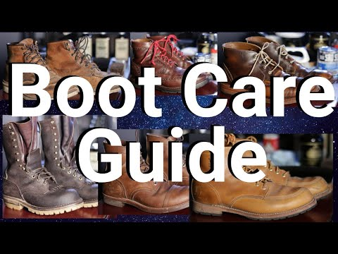 How to Clean & Condition Boots