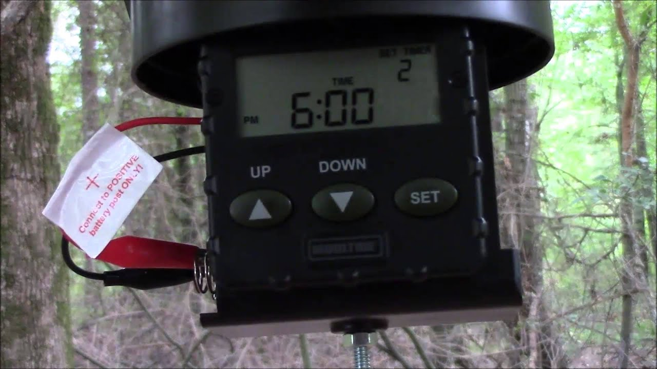 deer instructions index ts feeder timer american analog hunter feeders at digital product
