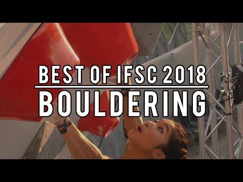 Best Of IFSC 2018 - Bouldering