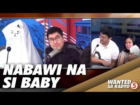 Sanggol na tinangay ng yaya, naisauli sa tulong ng Wanted sa Radyo