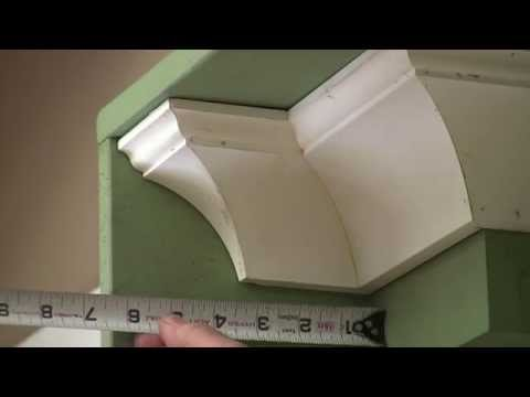 Installing Crown Molding: Measuring Crown Molding
