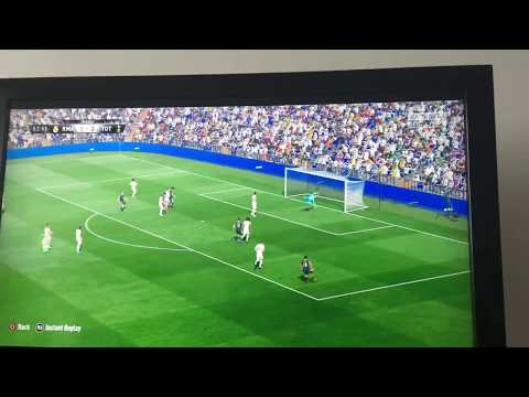 Brilliant freekick on Fifa 17
