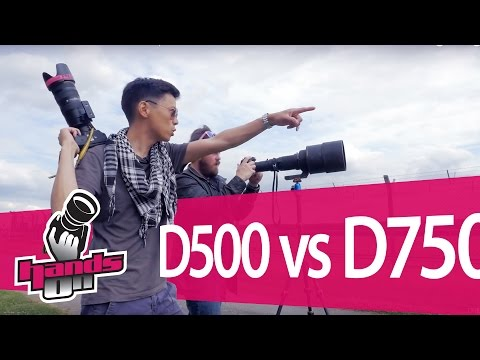 Nikon D500 vs D750 Hands-on Comparison