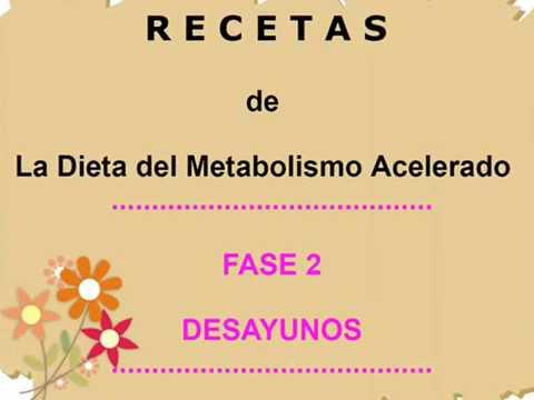 dieta metabolica menu completas