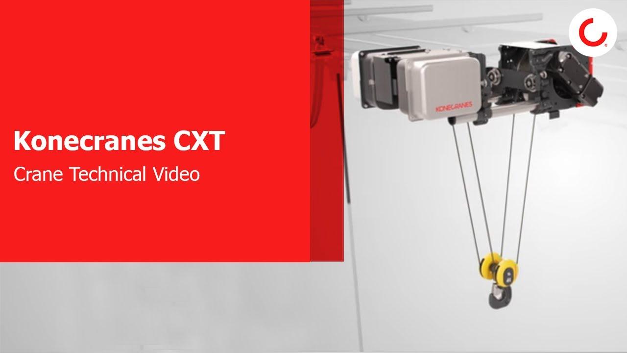 CXT Crane Technical Video - YouTube