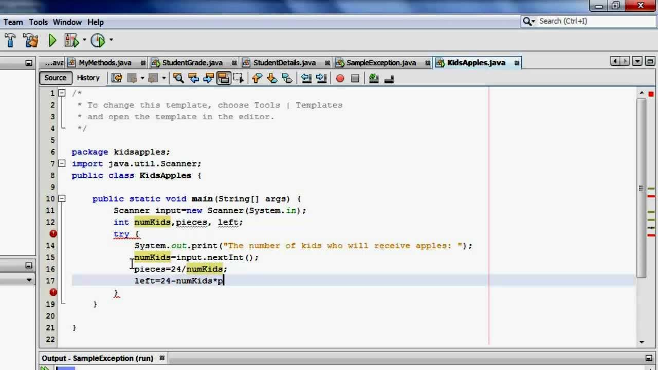 Java tutorial 17 exception handling in java try catch finally java tutorial 17 exception handling in java try catch finally baditri Gallery