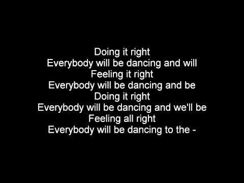 Daft Punk ft Panda Bear - Doin' It Right (Lyrics)