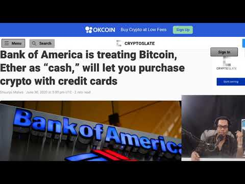 Chainlink To Power NFT Games.  Bank Of America ETH And BTC Treated Like Cash.  21Shares BTC ETP.