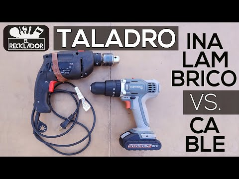 #176 Taladro inalambrico VS Taladro de cable