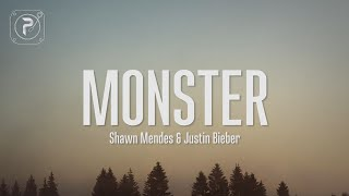 Shawn Mendes - Monster (Lyrics) FT. Justin Bieber