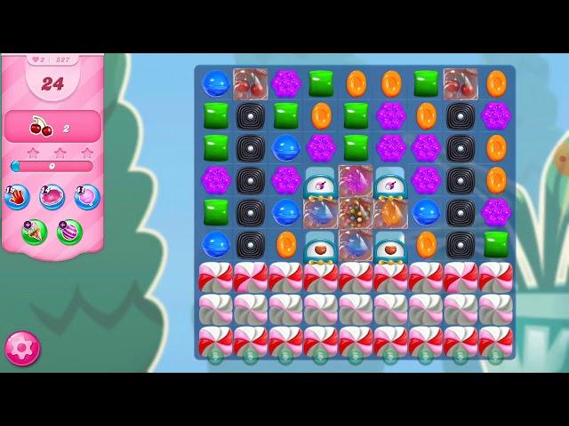 Candy Crush Saga niveau 527
