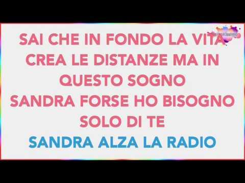 360 gradi - Sandra (Base Musicale Karaoke Cover)