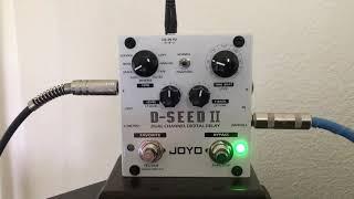 Joyo D-SEED II Digital Delay Pedal