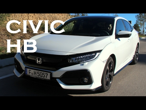 Test - Honda Civic Hatchback 1.5 Turbo (2017)  Test Sürüşü