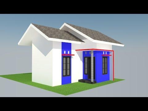 Desain Rumah Mungil Type 21