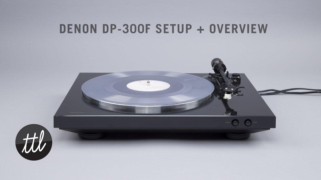 Denon DP-300F Black