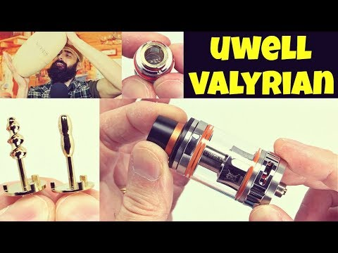 Vaping The UWELL Valyrian Subohm Tank! Giving Away 5 Eggs!