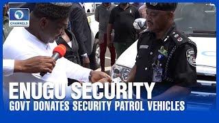 Govt Donates Security Patrol Vehicles To Police