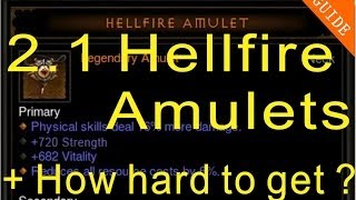 Diablo 3 Reaper of Souls: Patch 2.1 Hellfire Amulet + Step by Step Guide
