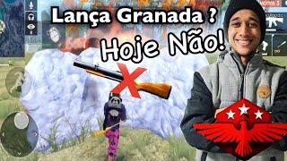 Parei o Lança Granada no Gelo!! PEGUEI MESTRE! Upando um Inscrito