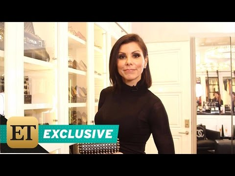 EXCLUSIVE: Take a Tour of Heather Dubrow's UltraLuxe Custom Closet  It's Like a Department Store!