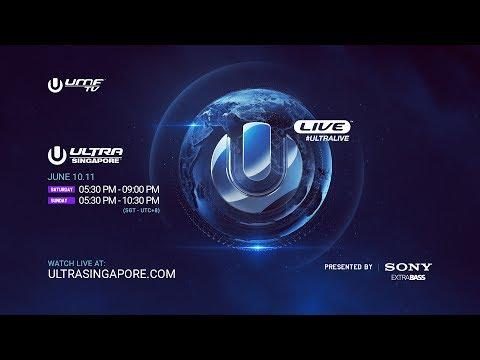 Ultra Singapore 2017  Live Stream Announcement