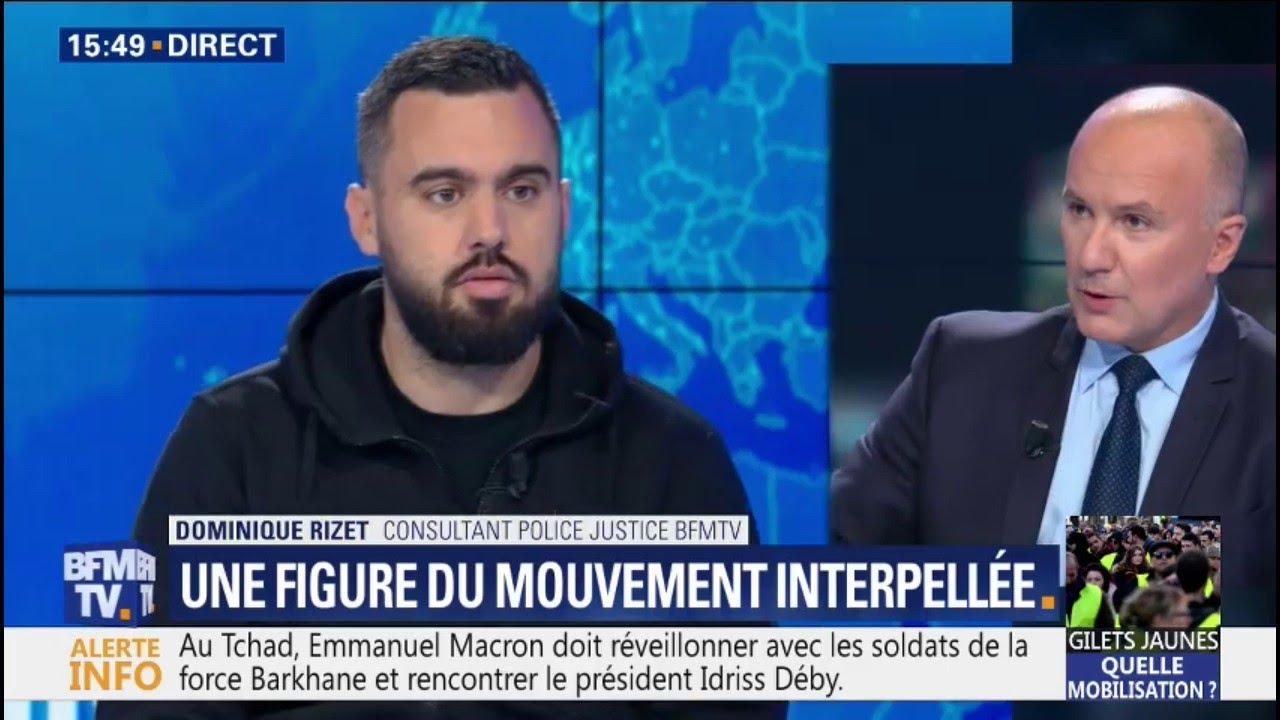 Éric Drouet, une figure des gilets jaunes, a été interpellé à Paris