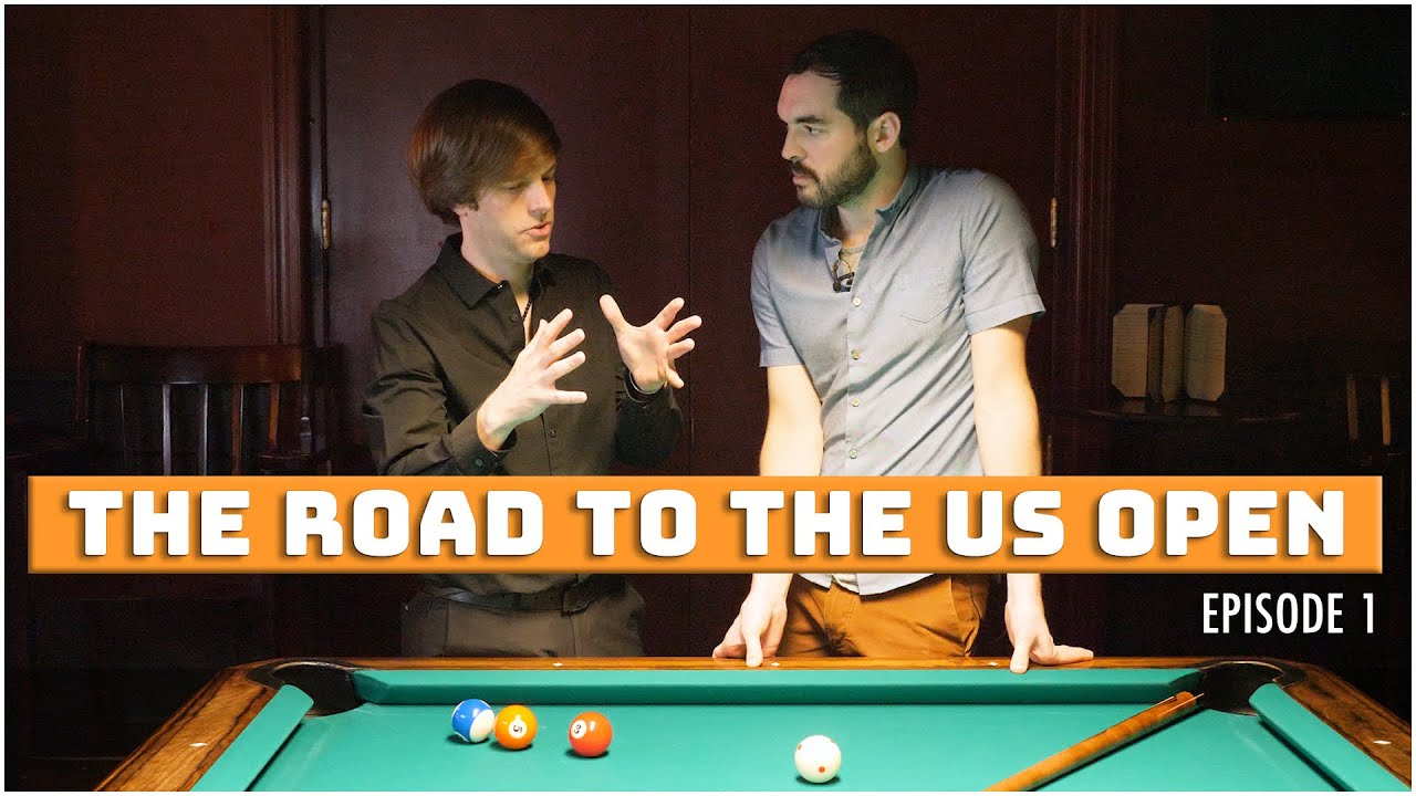 An average pool player in a professional tournament | The Road To The US Open