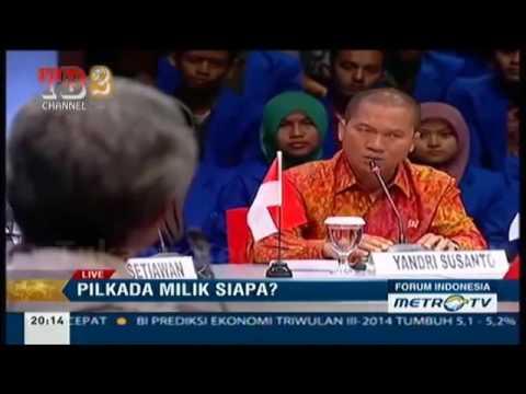 Debat Seru !!! Ganjar Pranowo Vs Politisi PAN Pilkada Milik Siapa ?