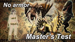 MH4U The Master's Test (naked run) - 7'40''80