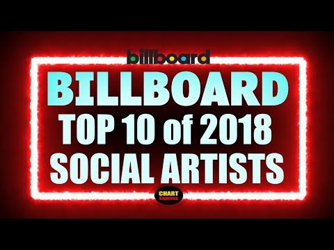 Billboard - Year-End 2018 - Social Artists | Top 10 | ChartExpress Mp3