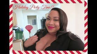12 Days of Vlogmas⎮Day 2: It's Here & Holiday Party Time!!!