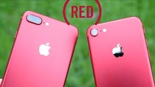 iPhone RED (rouge) en version 7 et 7 plus