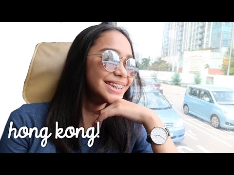 Going to Hong Kong + Hotel Room Tour! | ThatsBella