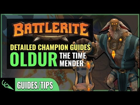 Oldur Guide - Detailed Champion Guides | Battlerite (Early Access)