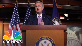 McCarthy: 'The Nation Is Weaker' Because Democrats Focus On Impeachment | NBC News
