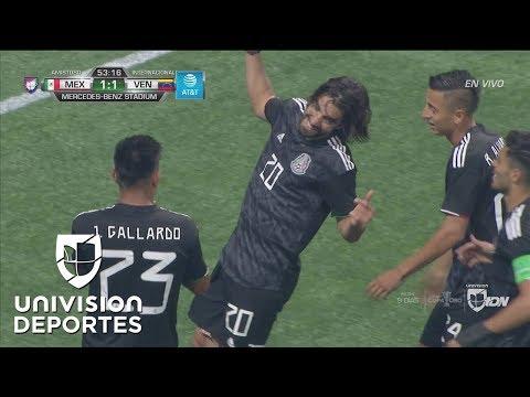 México le da la vuelta: Rodolfo Pizarro firma el 2-1 con 'pase a la red' de tres dedos