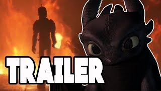 How To Train Your Dragon 3 Official Trailer Breakdown