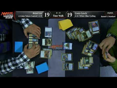 Magic the Gathering Grand Prix Atlanta 2017 Round 5 TimeWalk